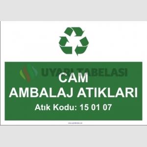 A1180 - Cam ambalaj atıkları, 15 01 07