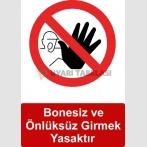 GI 5019 - Bonesiz ve önlüksüz girmek yasaktır