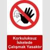 IA5002 - Korkuluksuz iskelede çalışmak yasaktır
