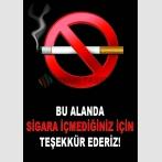 AT 1059 - Bu Alanda Sigara İçmediğiniz İçin Teşekkür Ederiz
