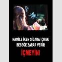 AT1071 - Hamile İken Sigara İçmek Bebeğe Zarar Verir, İçmeyin
