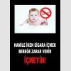 AT1074 - Hamile İken Sigara İçmek Bebeğe Zarar Verir, İçmeyin