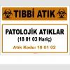 A180102-2 - Patolojik Atıklar