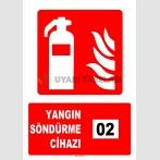 AT 1141 - 2 Nolu Yangın Söndürme Cihazı