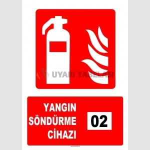 AT1141 - 2 Nolu Yangın Söndürme Cihazı