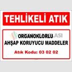 A 030202 - Organoklorlu ahşap koruyucu maddeler