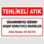A 030203 - Organometal içeren ahşap koruyucu maddeler