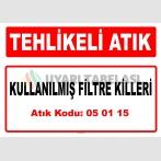 A 050115 - Kullanılmış filtre killeri