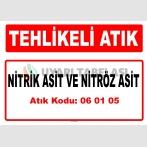 A060105 - Nitrik asit ve nitröz asit