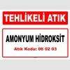 A060203 - Amonyum hidroksit