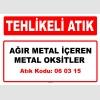A060315 - Ağır metal içeren metal oksitler