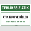 A010409 - Atık kum ve killer