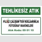 A 090110 - Pilsiz çalışan tek kullanımlık fotoğraf makineleri