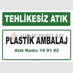 A 150102 - Plastik ambalaj