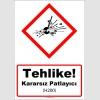 GHS1011 - Tehlike, Kararsız Patlayıcı (H200)