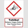 GHS1014 - Tehlike, Patlayıcı, yangın, patlama veya yansıtım zararı (H203)