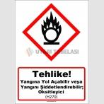 GHS 1019 - Yangına yol açabilir veya yangını şiddetlendirebilir, oksitleyici (H270)