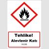 GHS1025 - Tehlike, Alevlenir Katı (H228)