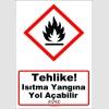 GHS1029 - Tehlike, ısıtma yangına yol açabilir (H242)