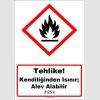 GHS1032 - Tehlike, Kendiliğinden ısınır, alev alabilir (H251)