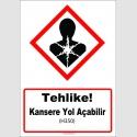 GHS1048 - Tehlike, Kansere Yol Açma Şüphesi Var (H350)