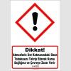 GHS1060 - Dikkat, Atmosferin üst katmanındaki ozon tabakasını tahrip ederek kamu sağlığına ve çevreye zarar verir (H420)