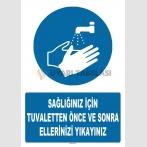 AT 1305 - Sağlığınız için Tuvaletten Önce ve Sonra Ellerinizi Yıkayınız