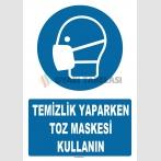 AT 1347 - Temizlik Yaparken Toz Maskesi Kullanın