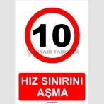 YT 7059 - 10 km hız sınırını aşma