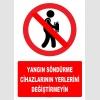 YT7167 - Yangın söndürme cihazlarının yerlerini değiştirmeyin