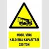 YT7207 - Mobil vinç kaldırma kapasitesi 220 ton