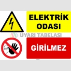 YT7139 - Elektrik Odası, Girilmez