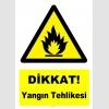 YT7169 - Dikkat yangın tehlikesi