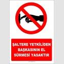 YT7242 - Şaltere yetkiliden başkasının el sürmesi yasaktır