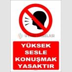 YT7354 - Yüksek sesle konuşmak yasaktır