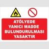YT7475 - Atölyede yanıcı madde bulundurulması yasaktır