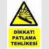 YT7495 - Dikkat basınçlı tüp patlama tehlikesi