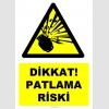 YT7497 - Dikkat basınçlı tüp patlama riski