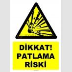YT7500 - Dikkat patlama riski (patlayıcı madde)
