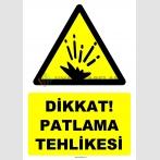 YT7509 - Dikkat patlama tehlikesi (genel)