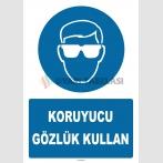 YT7722 - Koruyucu gözlük kullan