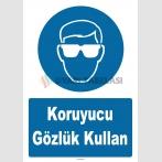 YT7723 - Koruyucu gözlük kullan