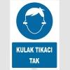 YT7827 - Kulak tıkacı tak