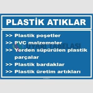 ZY1043 - Plastik atıklar, plastik poşetler,PVC malzemeler, süpürülen parçalar, bardaklar, üretim artıkları