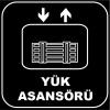 ZY1154 - Yük Asansörü, siyah - beyaz, kare