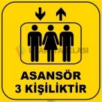 ZY1176 - Asansör 3 kişiliktir