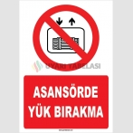 ZY1193 - Asansörde yük bırakma