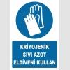 ZY1247 - Kriyojenik Sıvı Azot Eldiveni Kullan