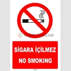 ZY1304 -Türkçe İngilizce  Sigara içilmez - No smoking