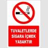 ZY1301 - Tuvaletlerde sigara içmek yasaktır